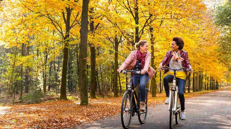 Drie redenen waarom fietsen in de herfst zo fijn is