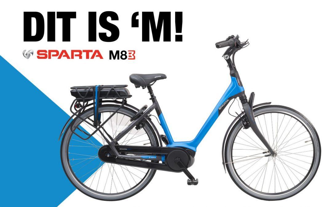 Sparta M8B elektrische van het jaar 2019 !