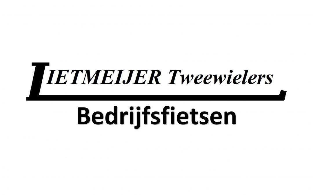 Lietmeijer Tweewielers levert bedrijfsfietsen